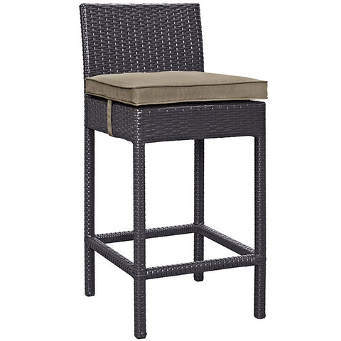 Gabrian Outdoor Patio Fabric Bar Stool