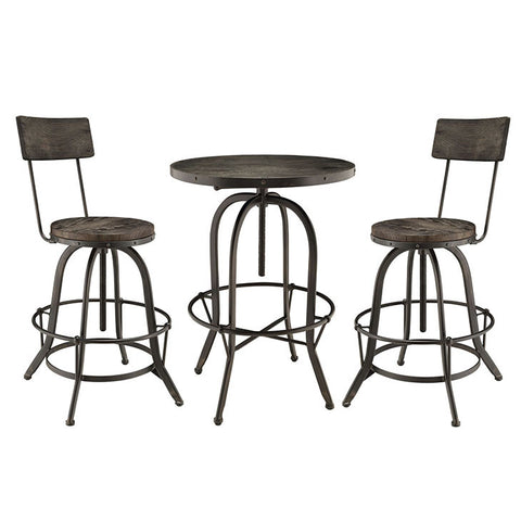 Carrence 3 Piece Dining Set