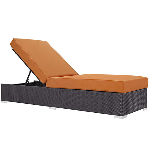 Gabrian Outdoor Patio Chaise Lounge