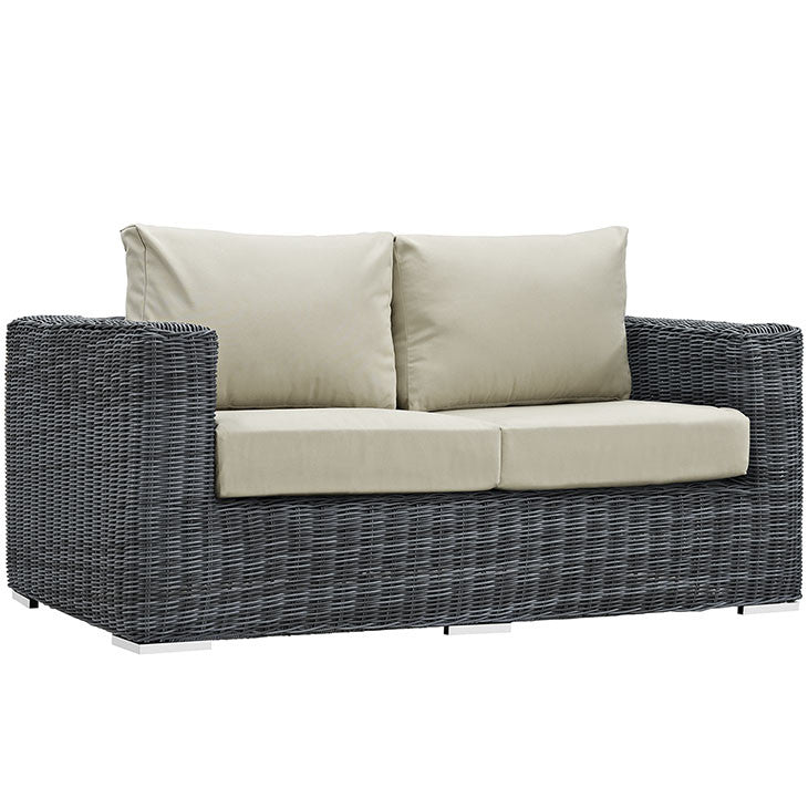 Clydianne Outdoor Patio Sunbrella® Loveseat