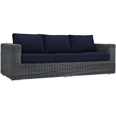 Clydianne Outdoor Patio Sunbrella® Sofa