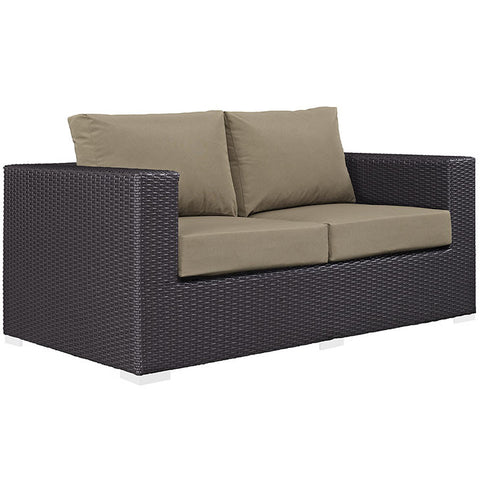 Gabrian Outdoor Patio Loveseat