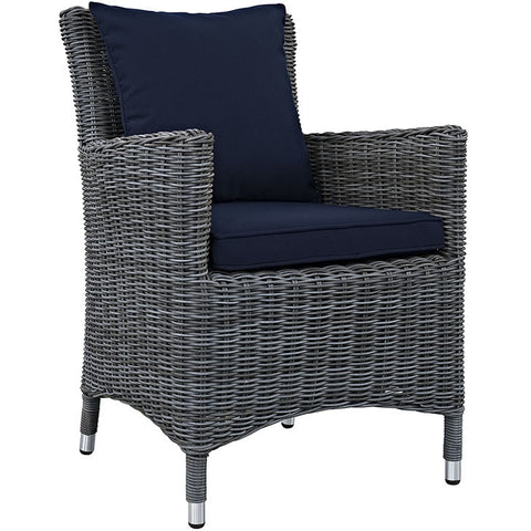 Clydianne Dining Outdoor Patio Sunbrella® Armchair