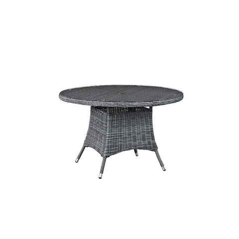 "Clydianne 47"" Round Outdoor Patio Dining Table"