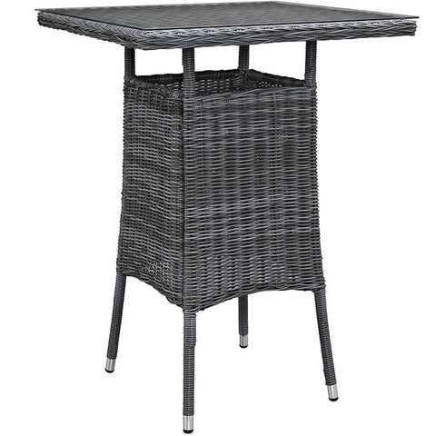 Clydianne Small Outdoor Patio Bar Table