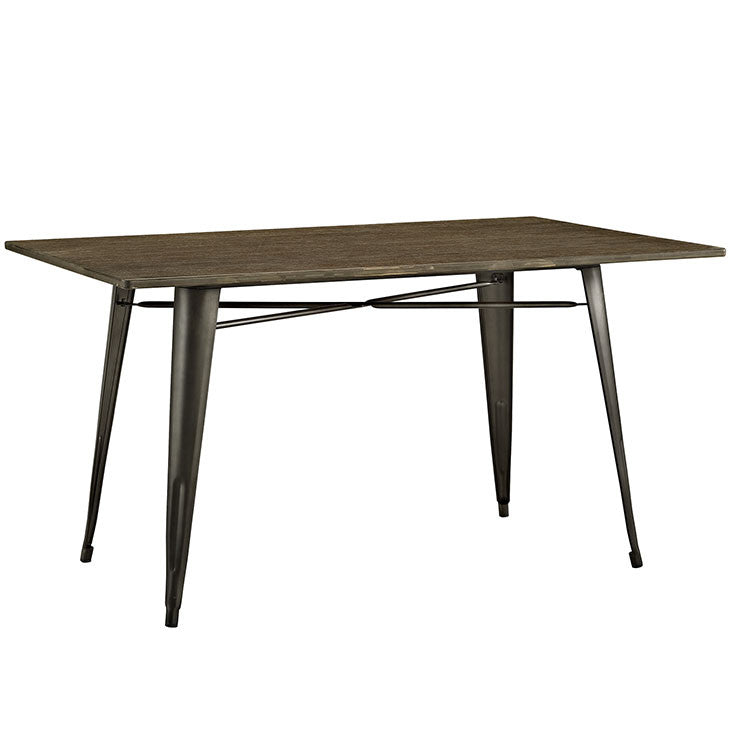"Crainette 59"" Rectangle Wood Dining Table"