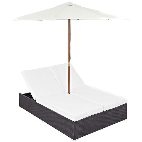 Gabrian Double Outdoor Patio Chaise