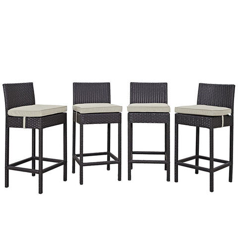 Gabrian 4 Piece Outdoor Patio Pub Set