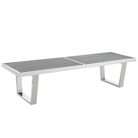 Arnon 5' Stainless Steel Bench