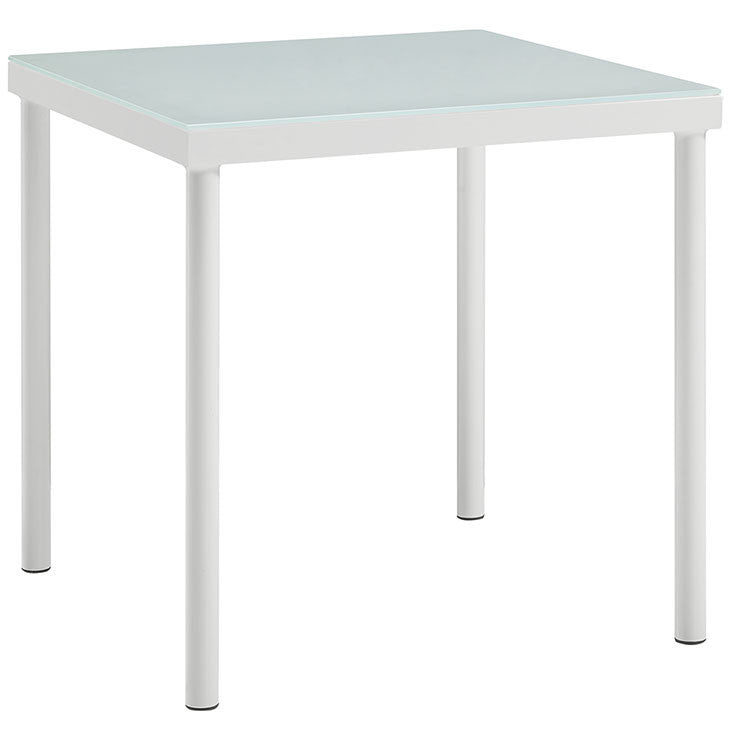Dally Outdoor Patio Aluminum Side Table
