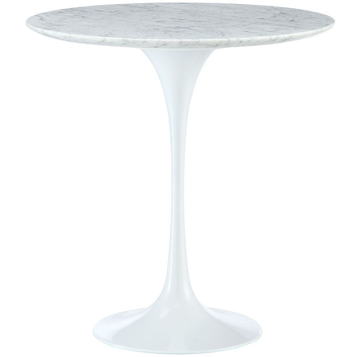 "Earlos 20"" Marble Side Table"