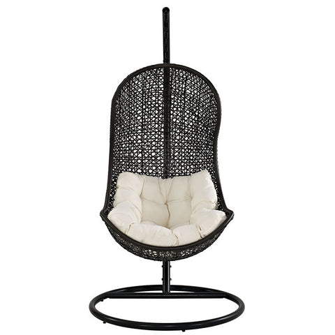 Lawrenee Swing Outdoor Patio Fabric Lounge Chair