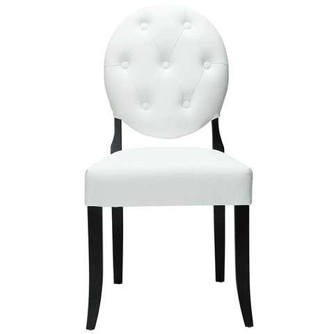 Carolive Dining Vinyl Side Chair