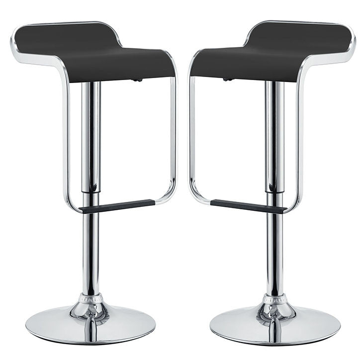 Gingelia Bar Stool Vinyl Set of 2