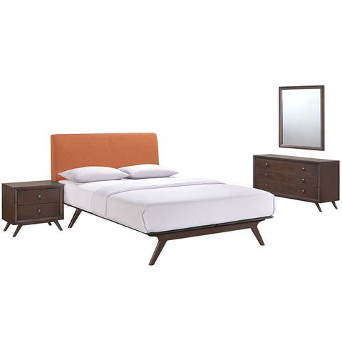 Carolinetta 4 Piece Queen Bedroom Set