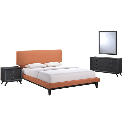 Mitchel 4 Piece Queen Bedroom Set