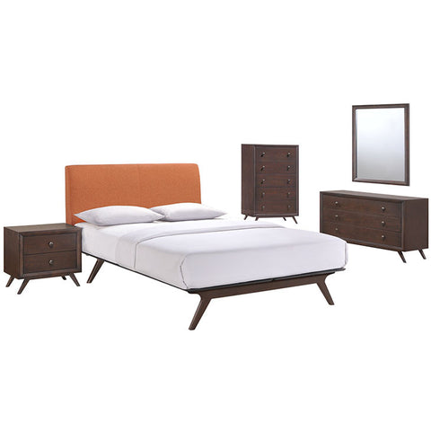 Carolinetta 5 Piece Queen Bedroom Set