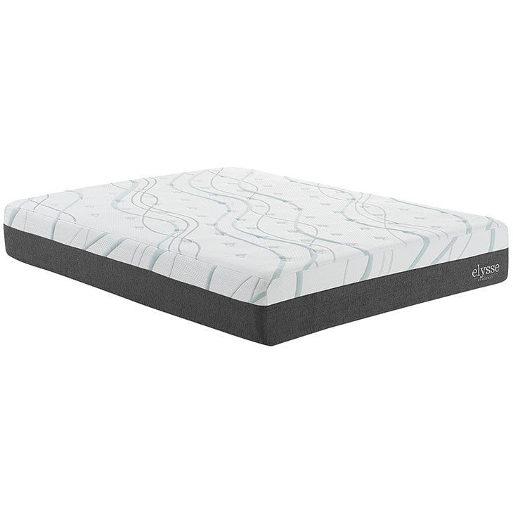 "Claura King CertiPUR-US® Certified Foam 12"" Gel Infused Hybrid Mattress"
