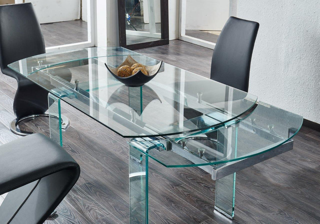 Chiara Glass Dining Table SPECIAL
