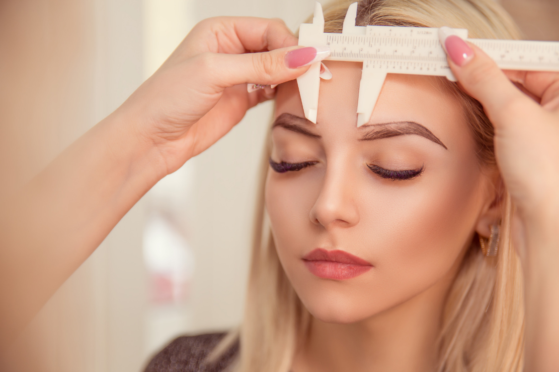 Eyebrow Mapping is how we get Perfect Eyebrows for Cosmetic Tattooing