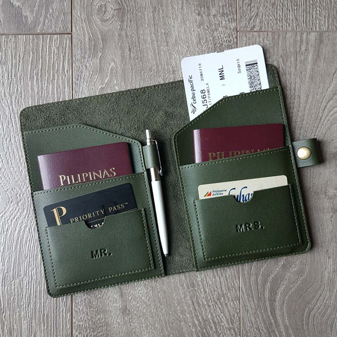 VIAJA COUPLE Passport Holder