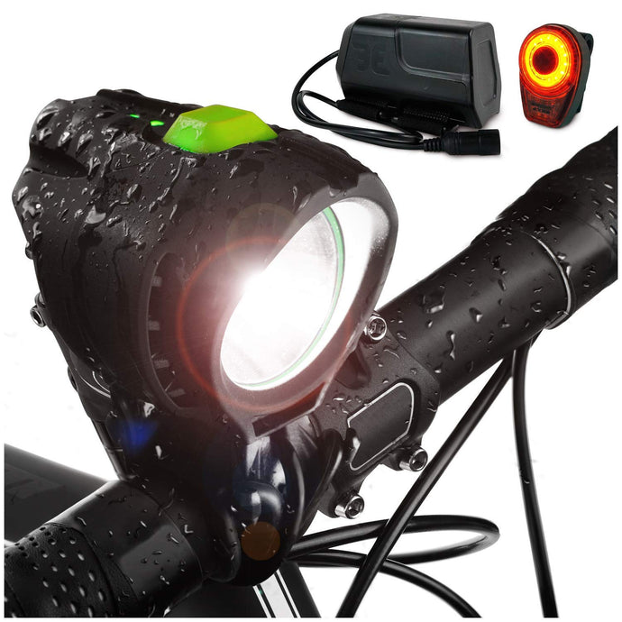1800 Lumen Stamina Bike Light Set