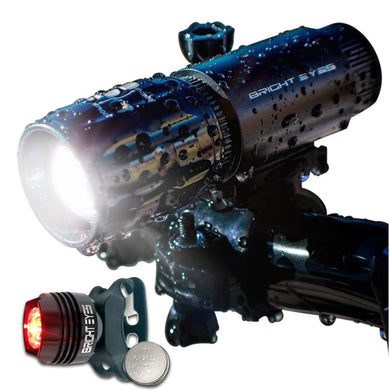 280 Lumen Bicycle Headlight Set