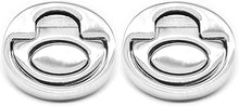 Polished Stainless Steel  Hatch Pull Rings- Set of 2