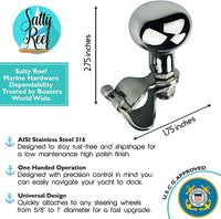 Universal AISI 316 Marine Grade Stainless Suicide Knobs