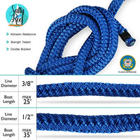 Premium Double Braid 15 Foot Nylon Dock-line