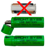 USB Rechargeable AAA Battery Holder Replacement