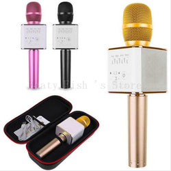 Bluetooth Karaoke Microphone with professional speaker. Carrying case included.