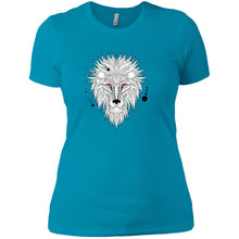 Geometric Lion Ladies' T-Shirt