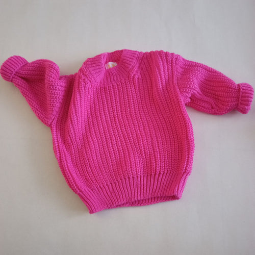 Chunky Knit - Pink