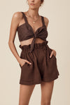 FREIDA BRALETTE - CHOCOLATE