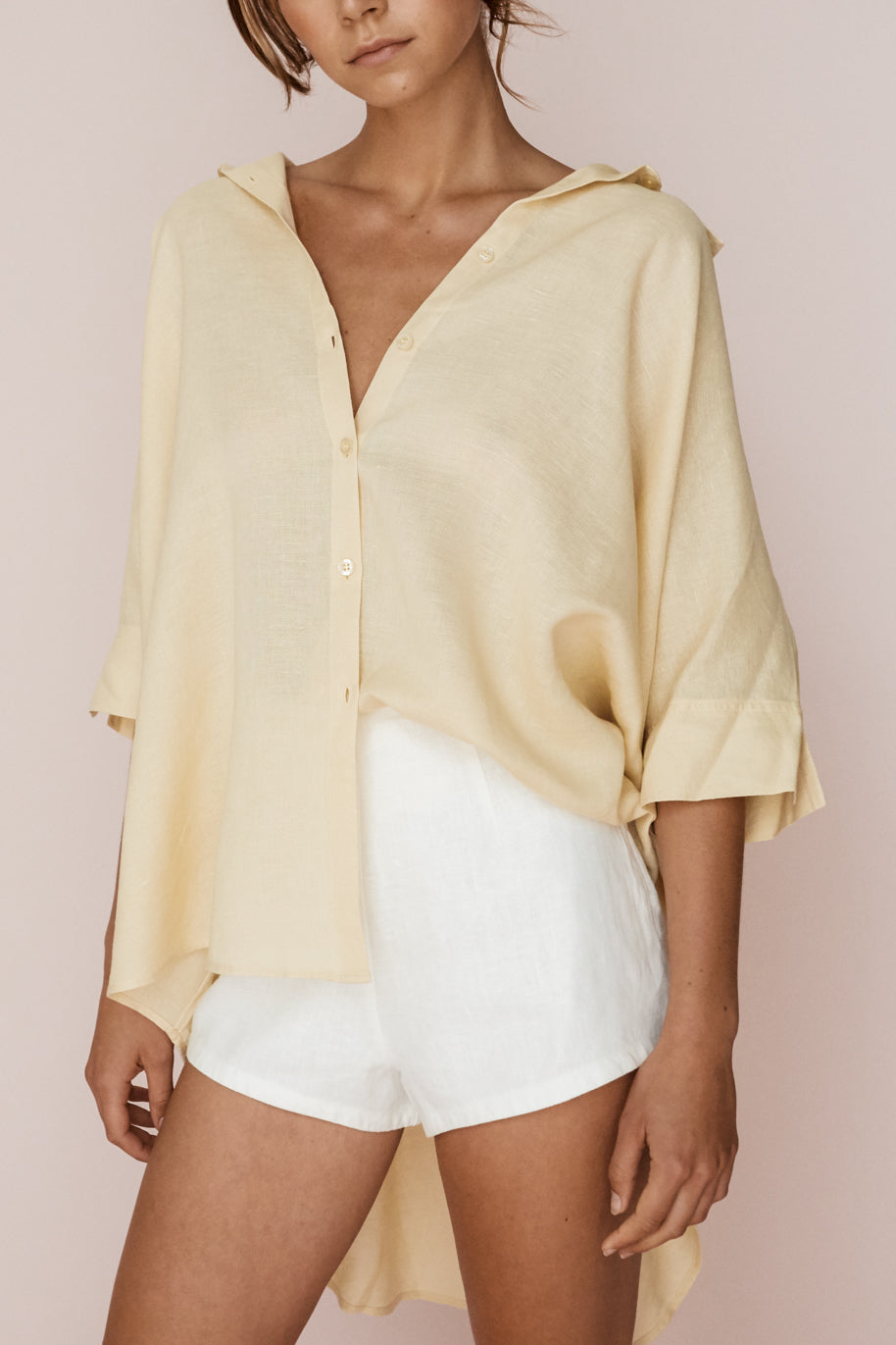 LULA SHIRT - STRAW
