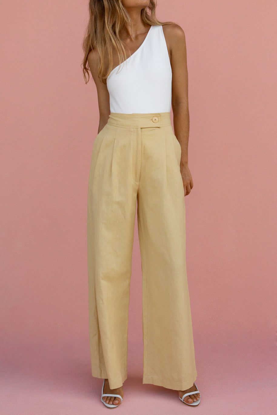 SOLACE PANT - STRAW