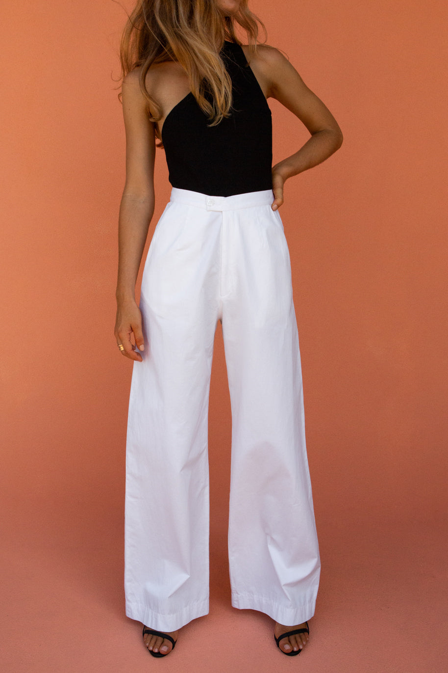 BOYCE TROUSER - WHITE