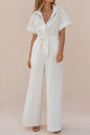 SIMONE JUMPSUIT - CLAY