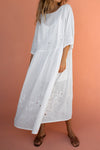 DOREEN DRESS - WHITE