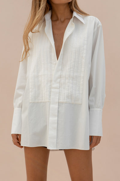 EDITH SHIRT - ANTIQUE WHITE