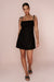 RAYE MINI DRESS - BLACK