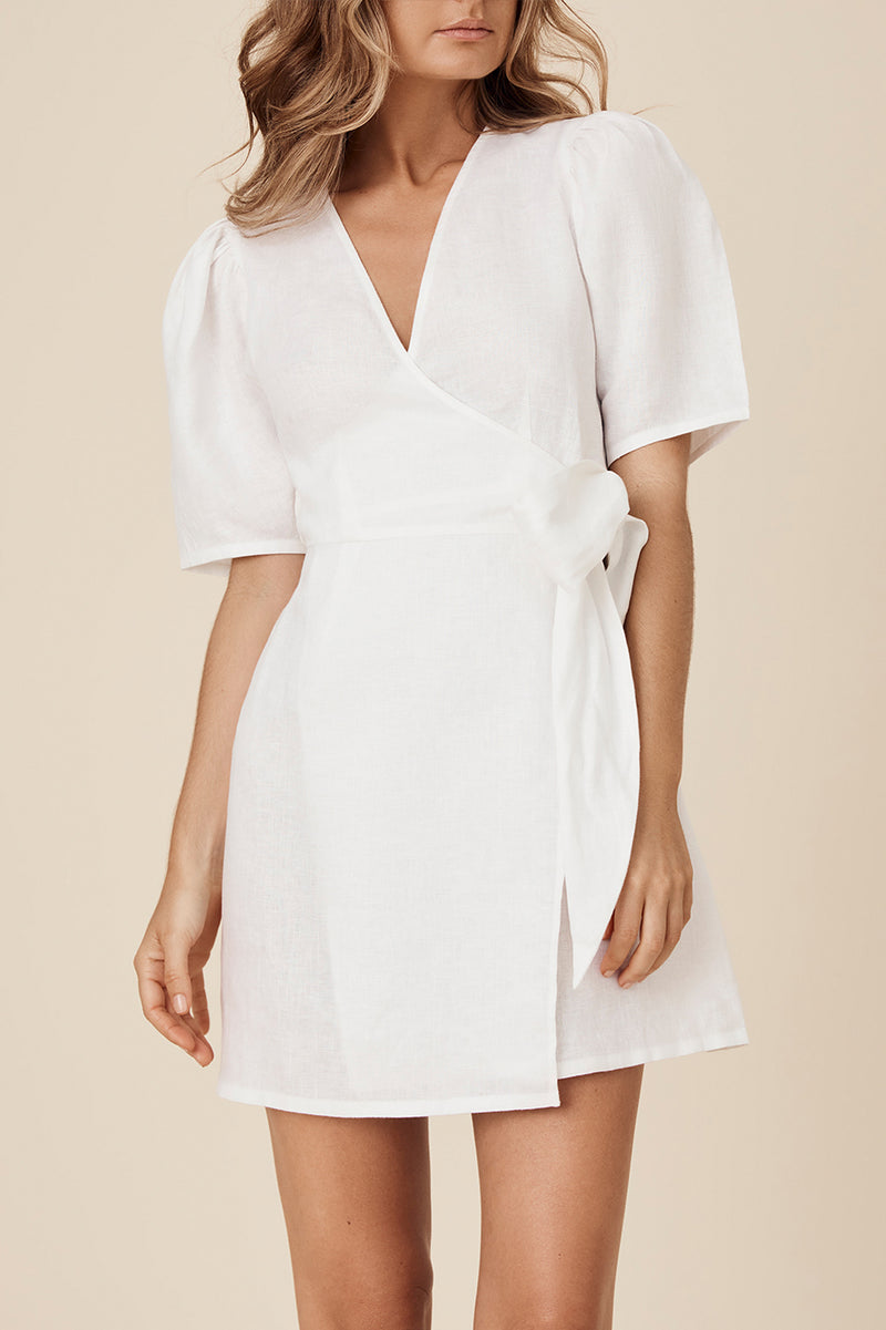 EVELYN DRESS - IVORY // PRE-ORDER