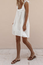 TORA MINI DRESS - WHITE