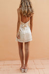 SANDRA PLAYSUIT - WHEAT