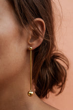 SOKO DOUBLE BALL DROP JACKET EARRINGS