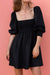 ALLEGRA DRESS - BLACK