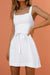 ALEXANDERA MINI DRESS - WHITE