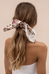SIENNA SCRUNCHIE - ANTIQUE FLORAL