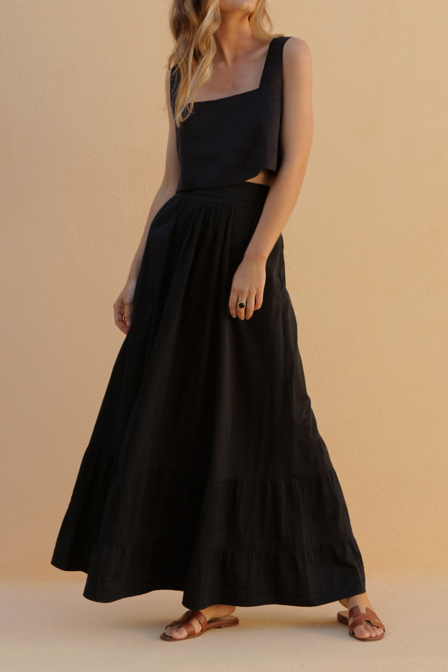 BLAISE SKIRT - BLACK
